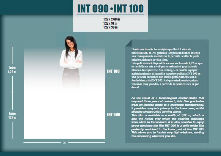 Láminas decorativas INT 090-100